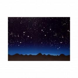Cielo Luminoso con Montagne