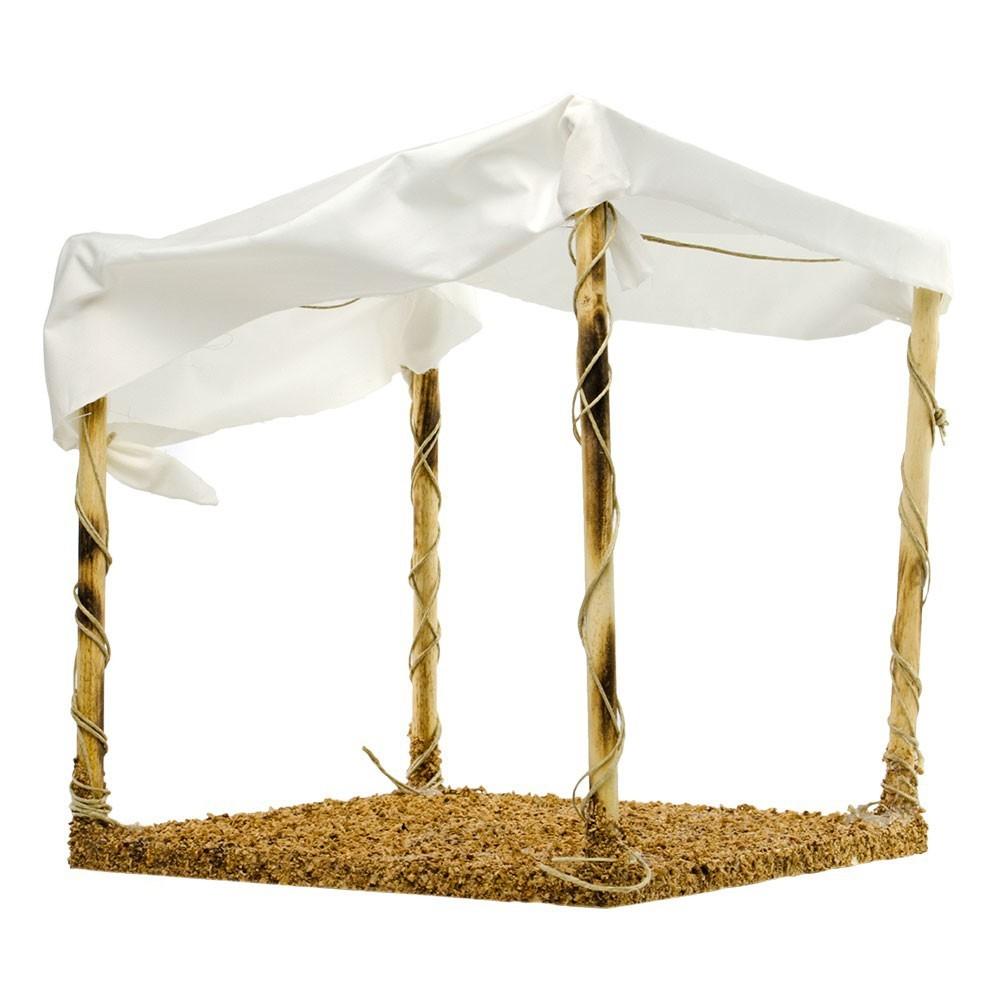 Tenda Araba con Pali per Presepe