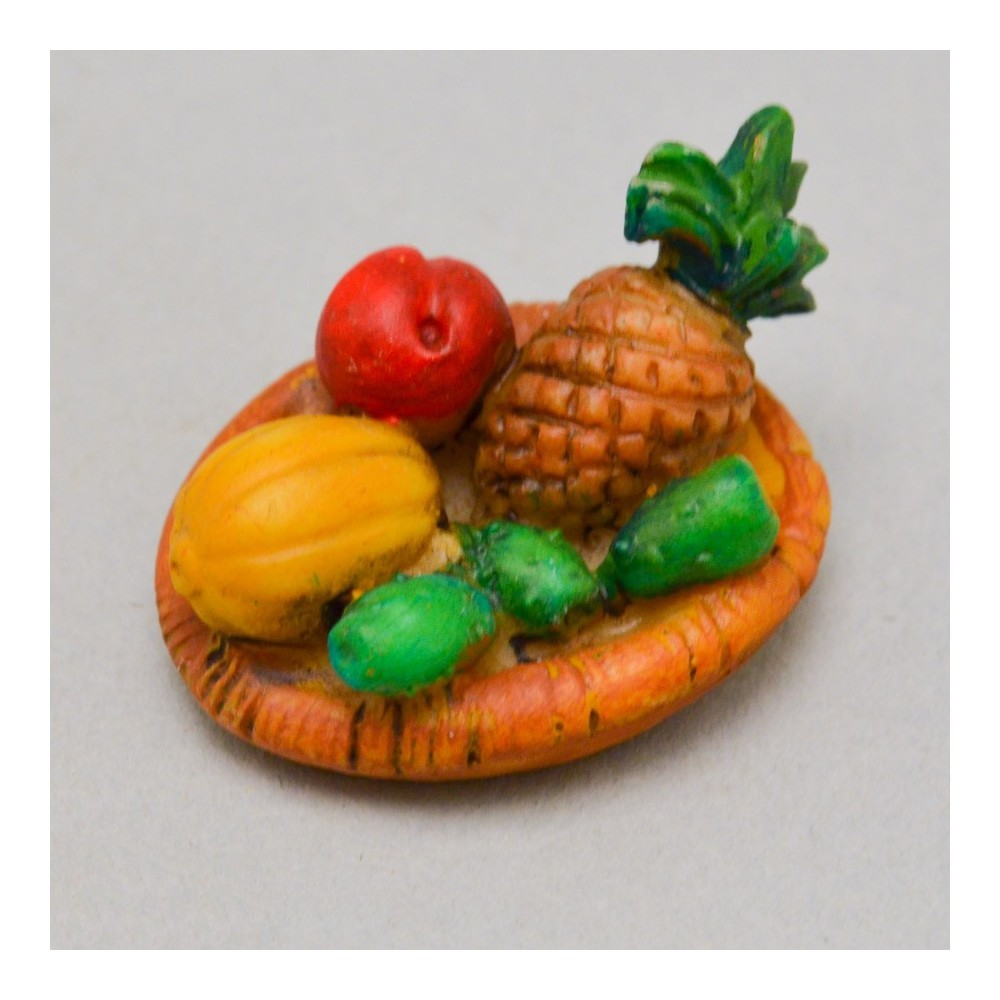 Cestino Ovale con Frutta