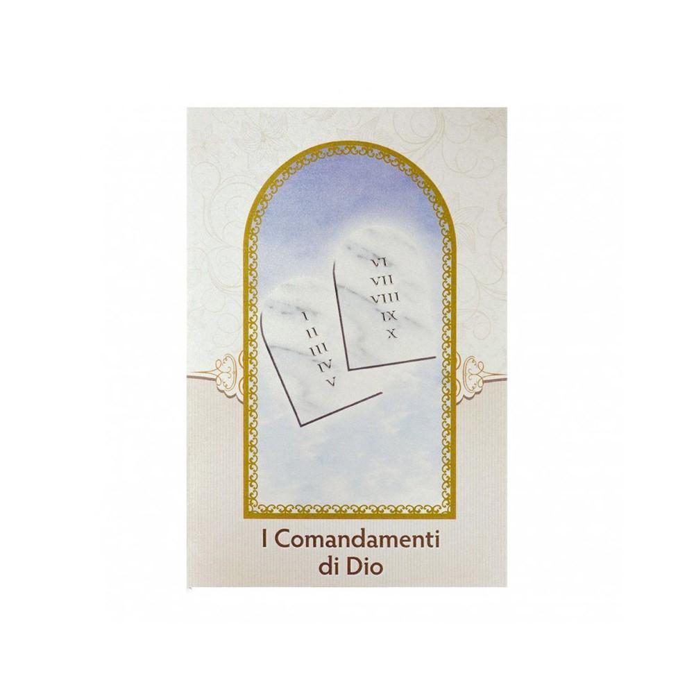 Cartoncino Pieghevole Dieci Comandamenti
