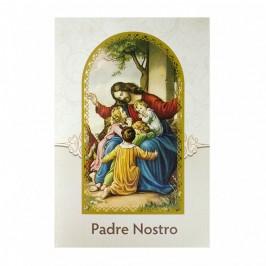 Cartoncino Pieghevole Padre Nostro