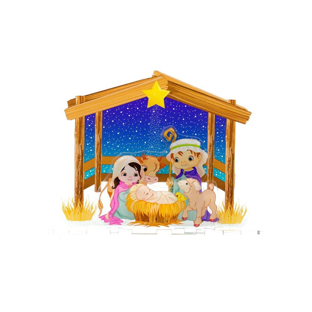 Presepe Componibile in Plexiglass