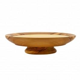 Patena in legno d'Ulivo