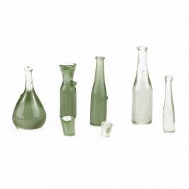 Confezione Bottiglie e Bicchieri per Presepe