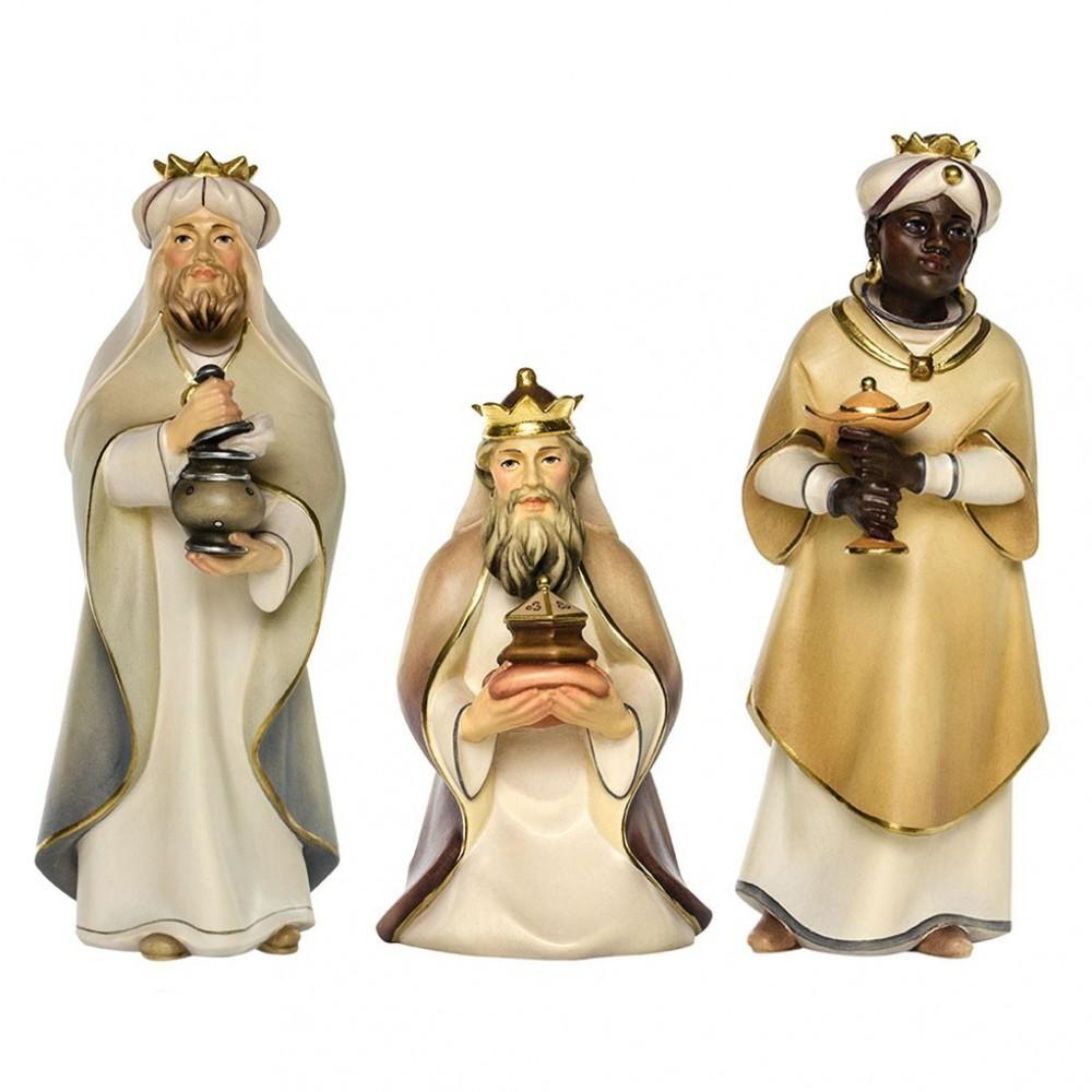 Tre Re Magi in Legno 25 cm