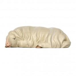 Pecora che Dorme in Legno