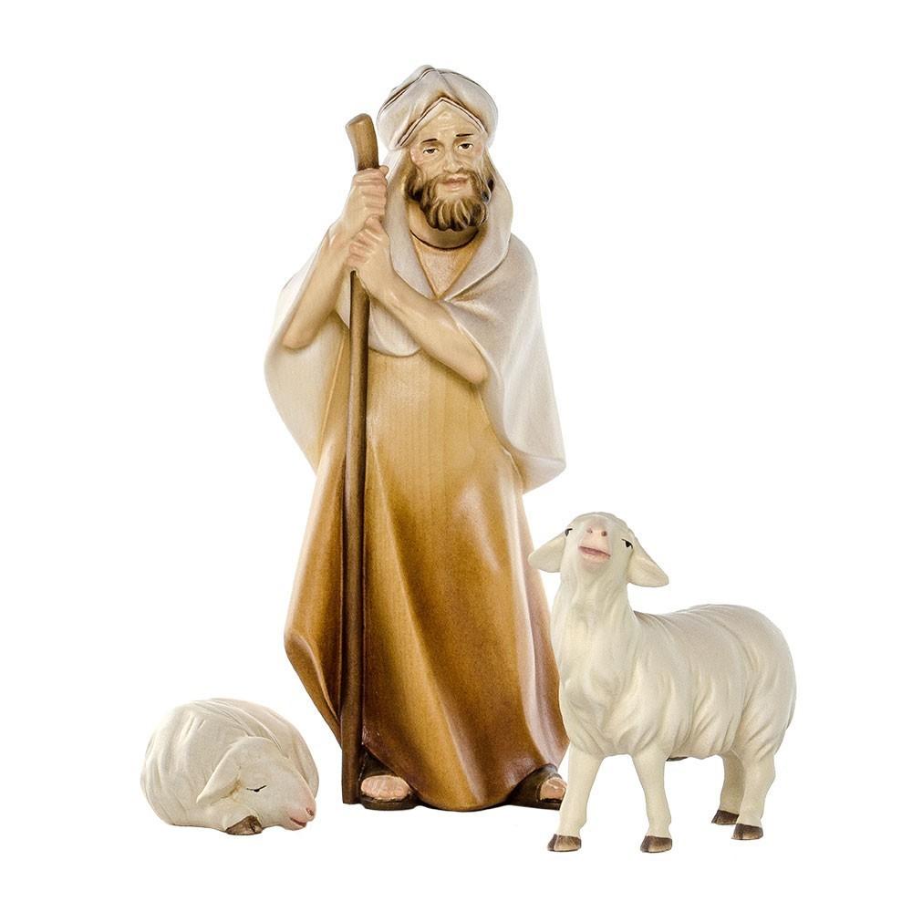 Pastore con Pecore Presepe Legno
