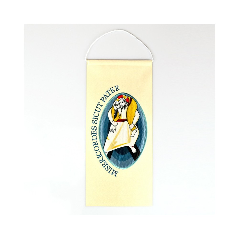 Stendardo con Logo del Giubileo Misericordia