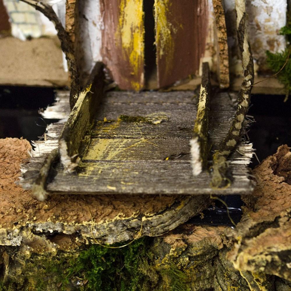 Mulino ad Acqua con Ponte per Presepe