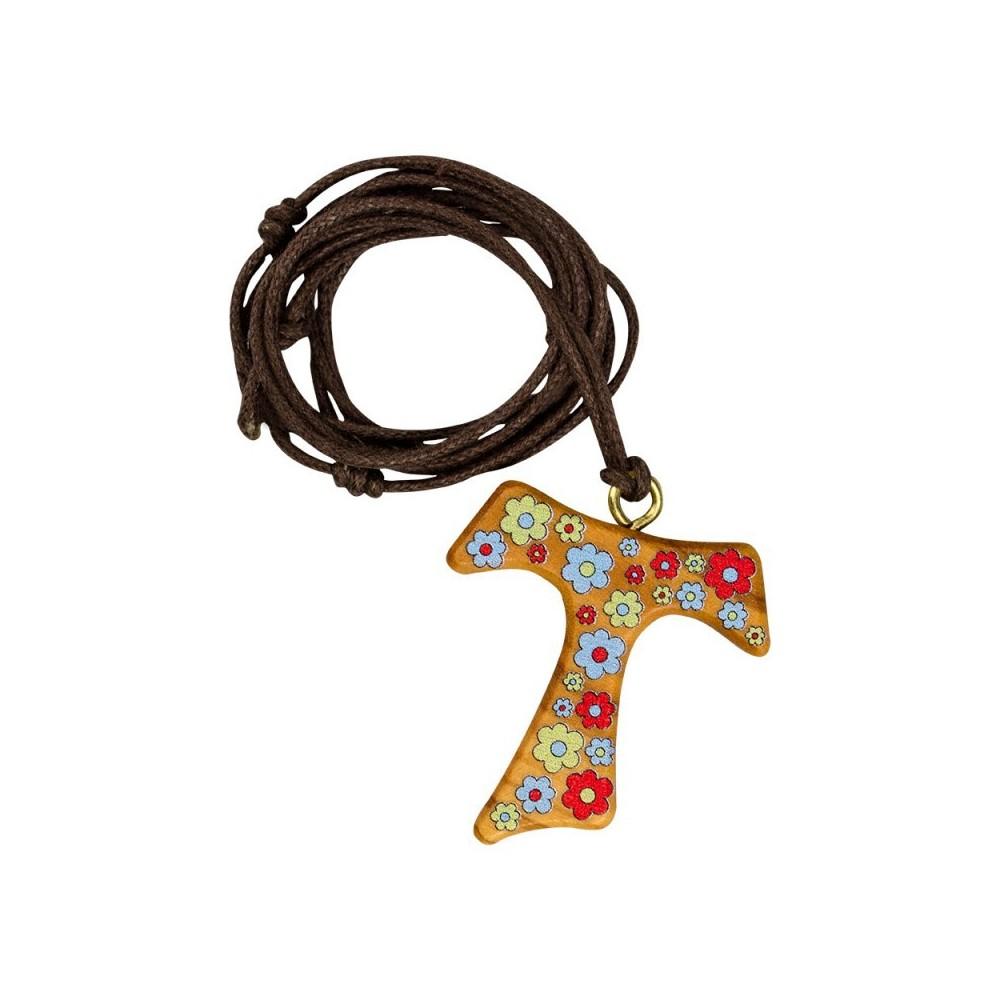 Croce Tau con Fiori
