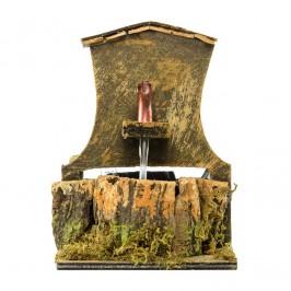 Fontana con Pompa A Riciclo d'Acqua