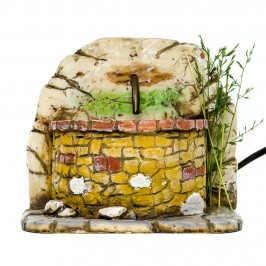 Fontana con Vasca Ovale per Presepe