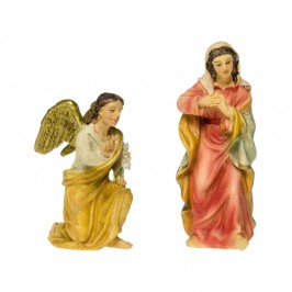 Set Figure Annunciazione di Maria e Angelo