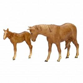 Cavallo e Puledro Landi cm 8