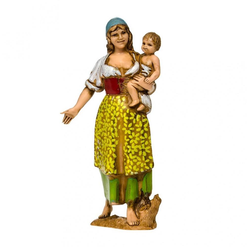Zingara con Bambino in Braccio