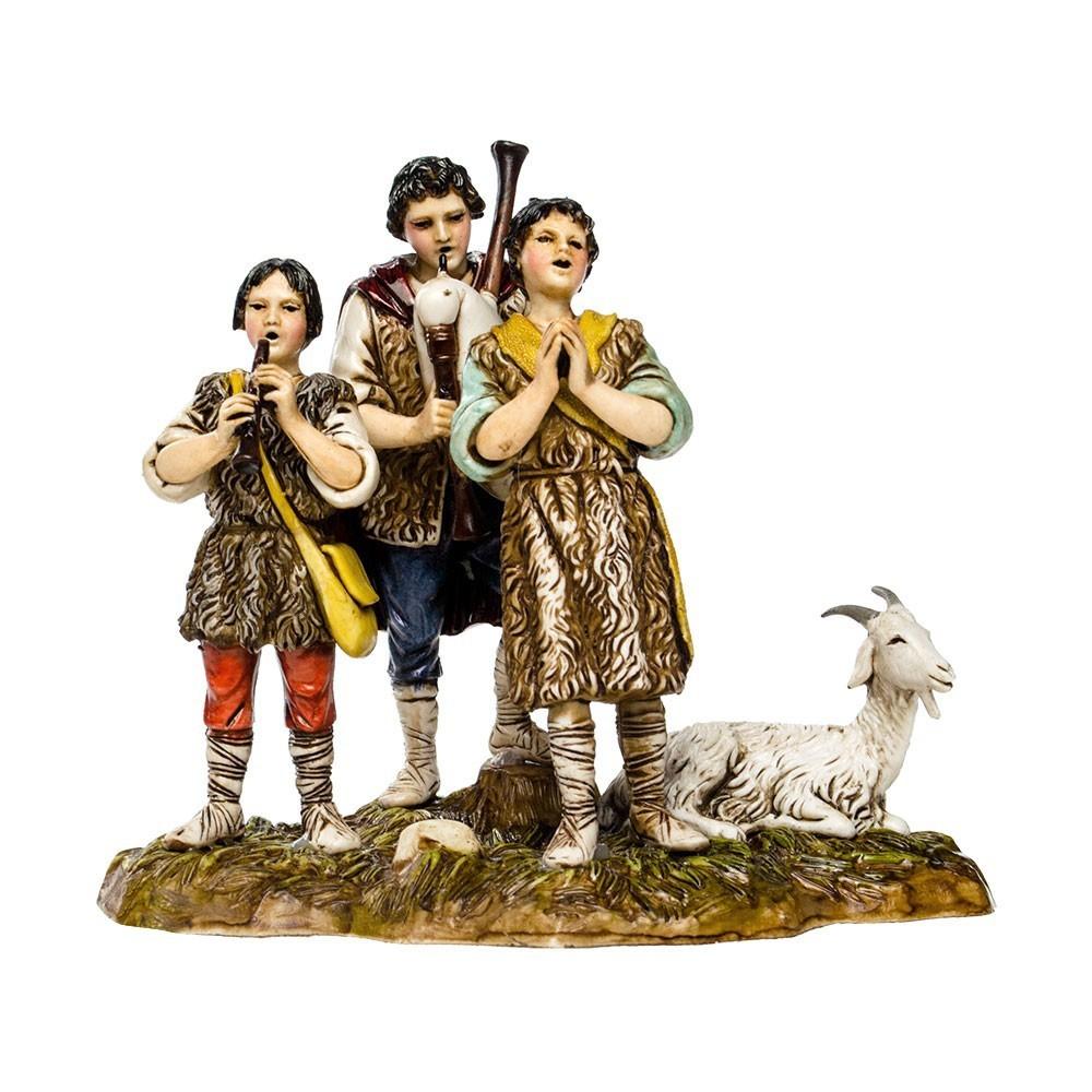 Gruppo Tre Musicanti Landi cm 10