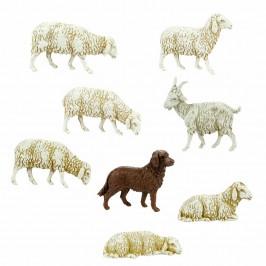 Capra, Cane e Pecore Landi cm 10