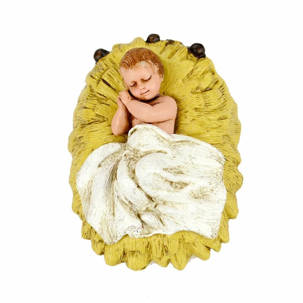 Gesù Bambino con Angeli Landi cm 11