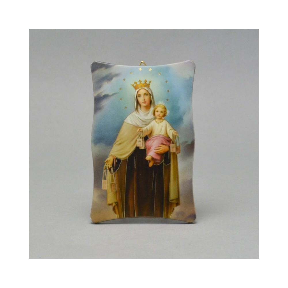 Quadro Madonna del Carmine