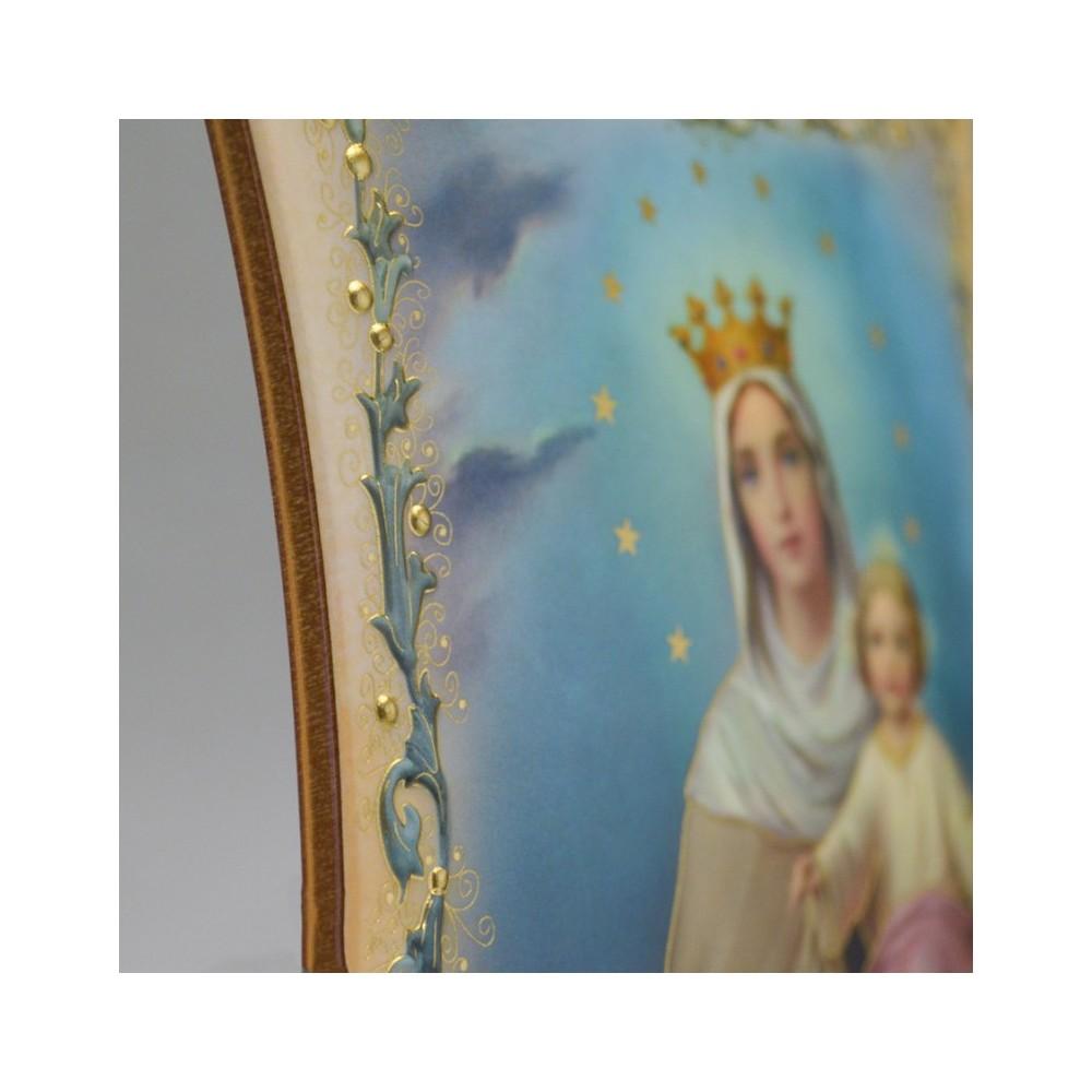 Quadretto Madonna del Carmine