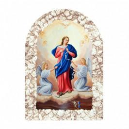 Quadretto Maria che Scioglie i Nodi