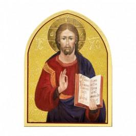 Quadretto Cristo In Legno
