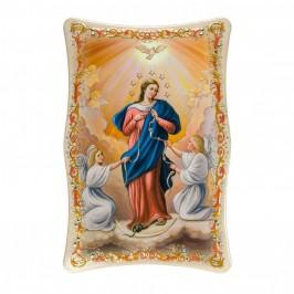 Quadro Maria dei Nodi Effetto Lucido