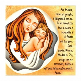 Quadro Tela Ave Maria