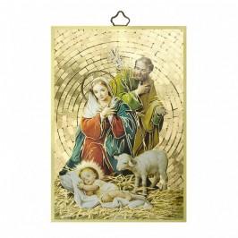 Tavoletta Sacra Famiglia In MDF