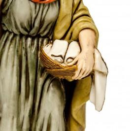 Donna con Anfora e Cesto per il Presepe
