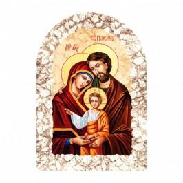 Quadro Effetto Pietra Sacra Famiglia