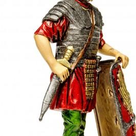 Soldato Romano con Scudo per il Presepe