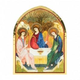 Quadretto Trinità Cupola in Legno