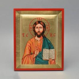 Quadretto Foglia Oro Gesù...