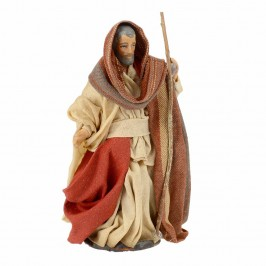 San Giuseppe in Terracotta cm 8