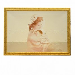 Quadro Maternità su Tela