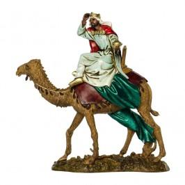 Re Magio Moro su Cammello per il Presepe