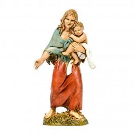 Zingara con Bambino per il Presepe