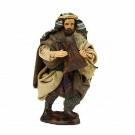 Pastore Zampognaro in Terracotta cm 10