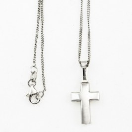 Collana con Croce in Argento