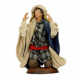 Pastore in Ginocchio Terracotta cm 18
