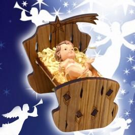 Culla con Gesù Bambino