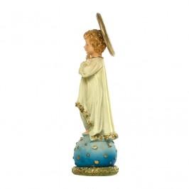 Gesù Bambino Benedicente H 13,5 cm