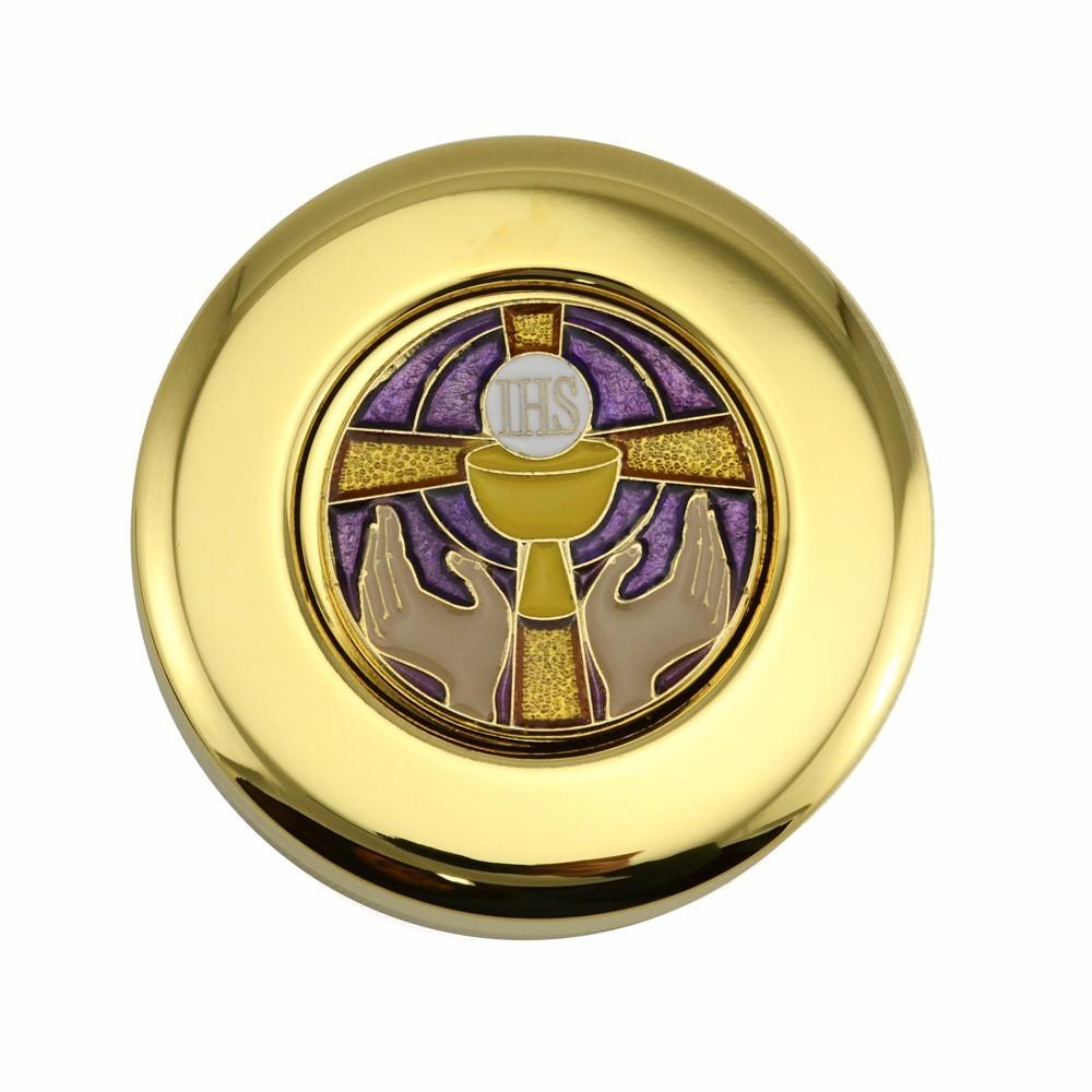 Teca Eucaristica con Placca Smaltata