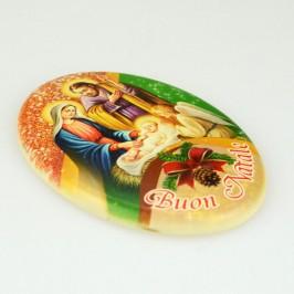 Magnete Ovale Natalizio