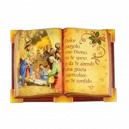 Quadretto Libro con Natività