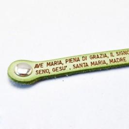 Bracciale con Preghiera Ave Maria