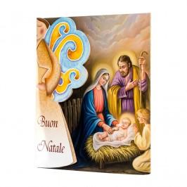 Confezione Cartoncino con Angelo in Legno