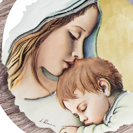 Quadretto Maternità in Legno