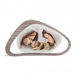 Quadretto Sacra Famiglia in Legno